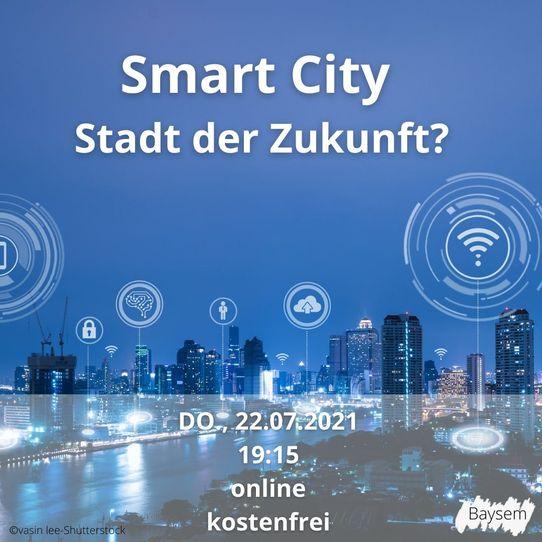 Bild zur Veranstaltung Smart City- Stadt der Zukunft?