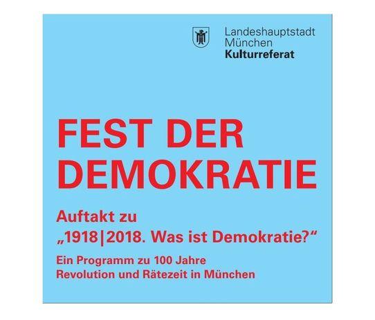 Bild zur Veranstaltung Fest der Demokratie