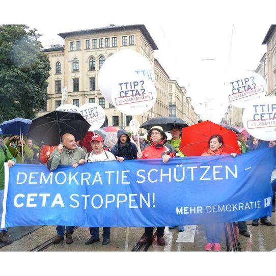 Bild zur Veranstaltung CETA-Aktionstag: Gegen den Demokratie-Abbau!