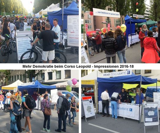 Bild zur Veranstaltung MD auf dem Corso Leopold mit der European Public Sphere