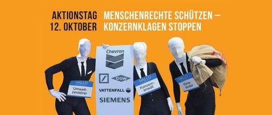 """Bild zur Veranstaltung Infostand """"Menschenrechte schützen - Konzernklagen stoppen"""""""